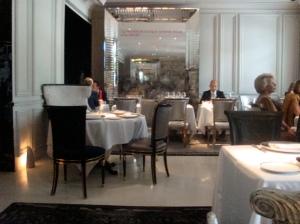 Salón del restaurante Bistro