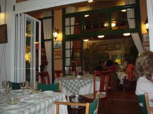 Vista del comedor del Restaurante Jágaro - Mahón (Menorca)