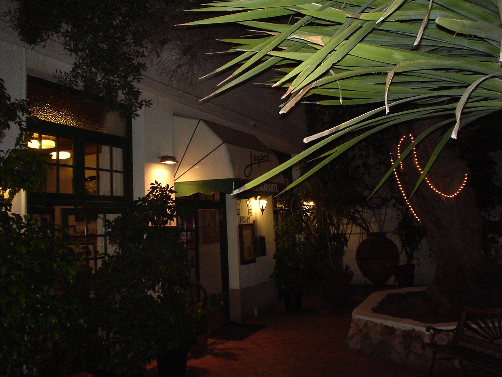 Entrada a Restaurante Jágaro - Mahón (Menorca)