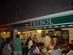 Restaurante Trébol - Es Castell (Menorca) - Entrada