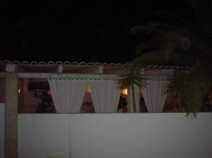 Terraza exterior del restaurante