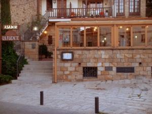 Vista exterior del Restaurante Asador La Fuente - Miraflores de la Sierra - Madrid