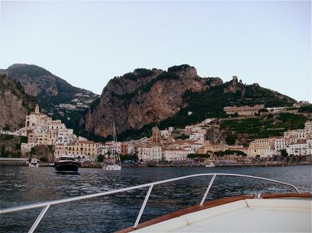 Amalfi - Italia - Vista desde el mar