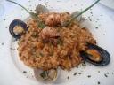 Arroz Adriático (de marisco, con gambas, almejas y mejillones)