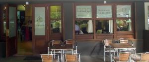 Restaurante La Solana - Cabañas (La Coruña) - Entrada al local
