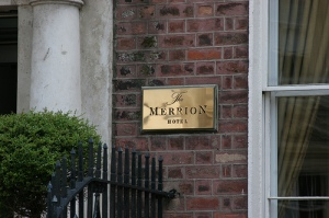 Hotel The Merrion –Dublin (Irlanda)