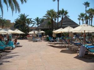 Parte central del Beach Club
