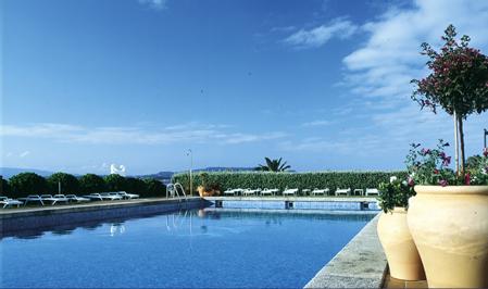 Vista de la piscina - Hotel Louxo, en la Isla de la Toja