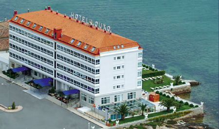 Hotel Louxo - La Toja - Vista aérea del hotel