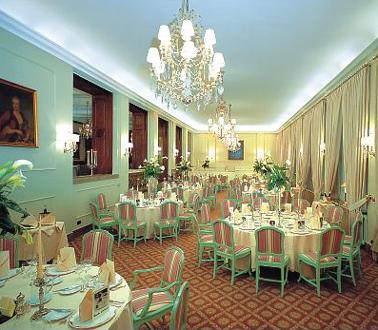 Restaurante del Hotel Der Europaïsche Hof – Hotel Europa – Heidelberg (Alemania)