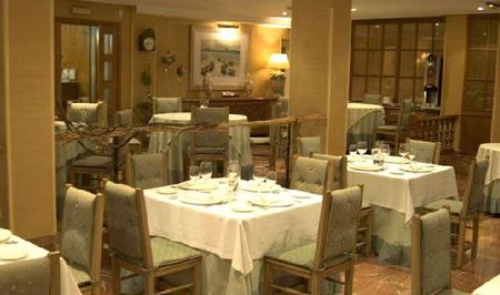 Vista del Comedor - Restaurante Rotilio - Pontevedra