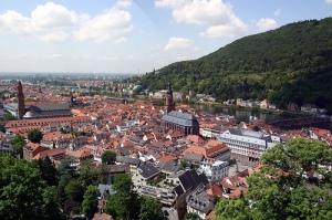 Vista desde el Castillo de Heidelberg (Alemania)
