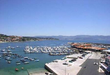 Vistas desde el Hotel Restaurante Rotilio - Pontevedra