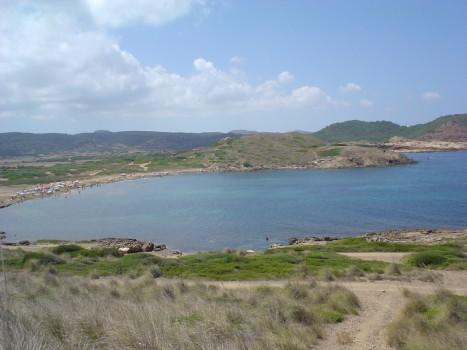 Vista de la zona de las playas del norte