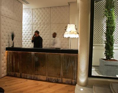 Hotel Le 123 - Paris - Francia - Hall del Hotel