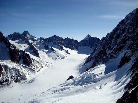 Glaciar de Argentiere