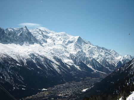 Mont Blanc desde la Flegere