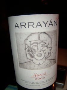 Vino Arrayan 2003 - Méntrida