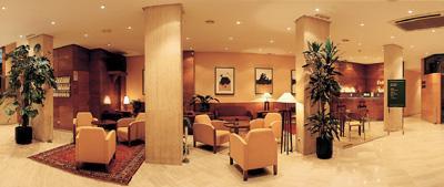 Hall del hotel