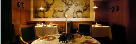 St. Hubertus, restaurante del Hotel Rosa Alpina