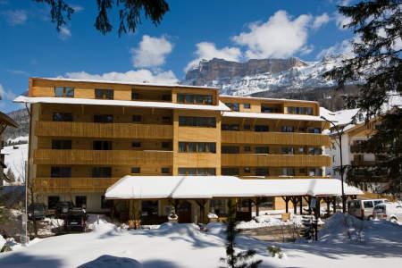 Vista exterior del Hotel La Villa