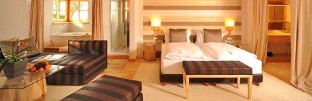 Habitación del Hotel Rosa Alpina