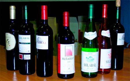 Bodegas Solabal - Vinos