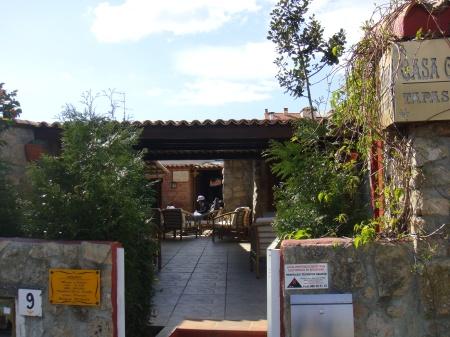 Exterior del restaurante