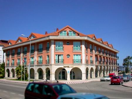 Hotel Bahía Bayona - Fachada