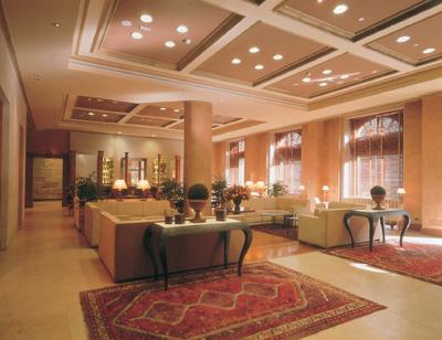 Vista del interior del hotel